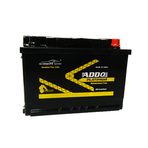 12v 74ah lead acid MF car battery