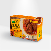 High Quality Instant Ready To Eat Meals Beef Meat Rendang From Indonesia