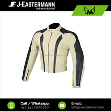 Pakistan Leather Jacket, CE Armored Fitted Motorcycle Jacket For Men