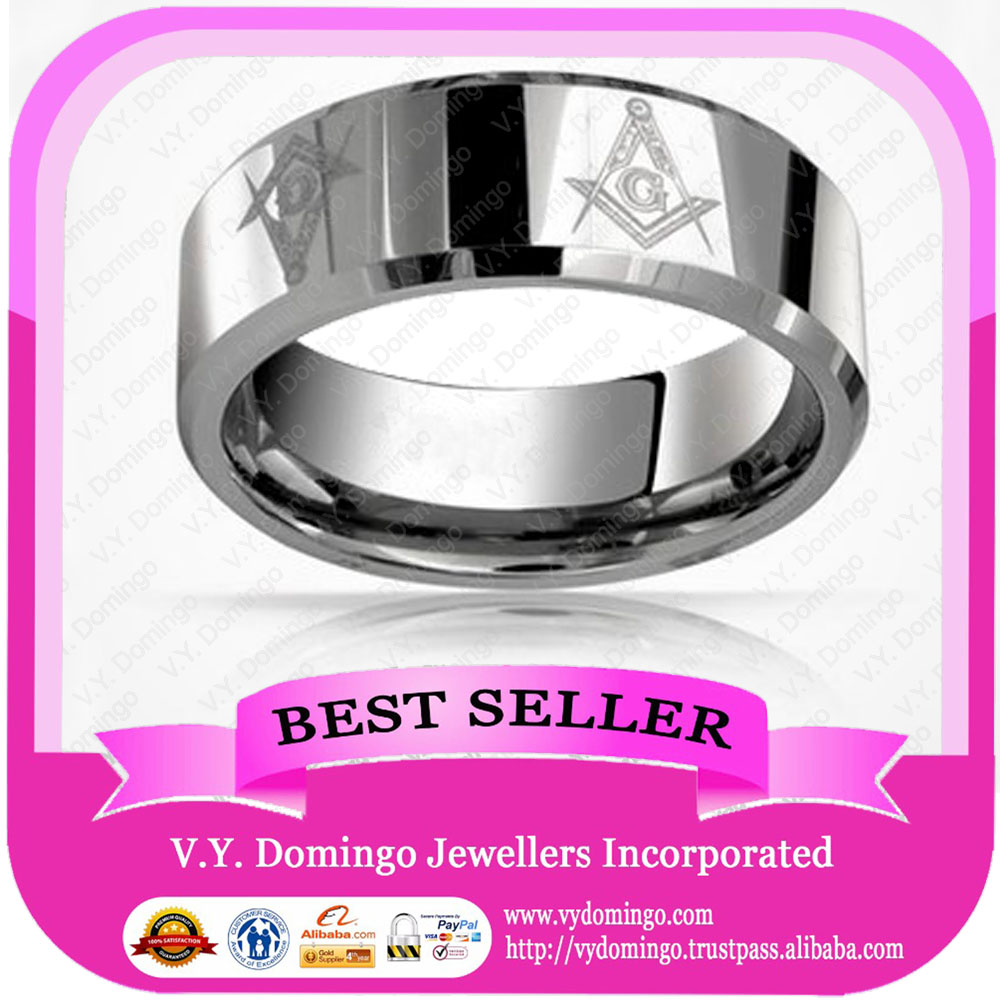 Sterling Silver 925 Band Ring Wholesale Mason Ring