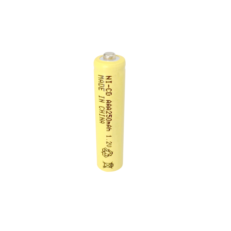 Solar Light AAA Nicd 1.2V 250mAh Rechargeable Batteries
