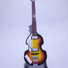 Art & Collectible Miniature Guitar Bass Hofner Paul McCartney The Beatles Signature