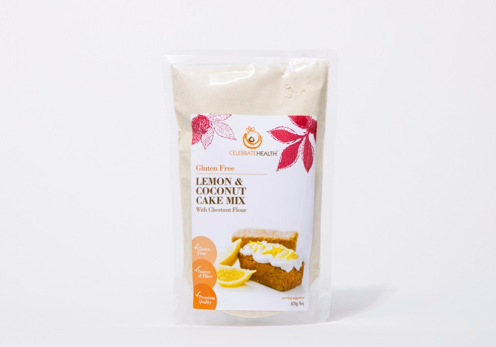 Private Label Lemon and Coconut Cake Mix Powder