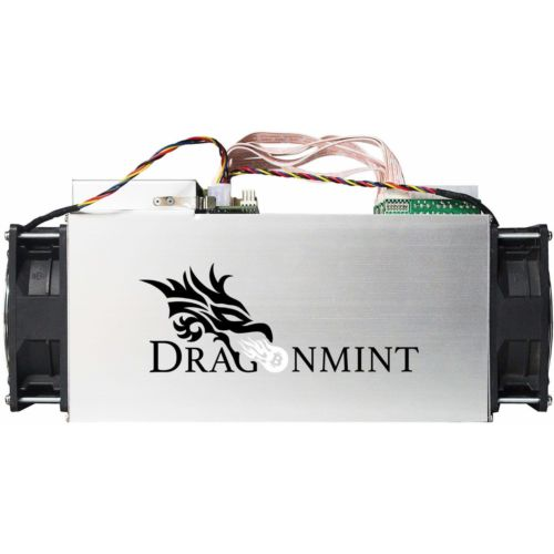 Asic Bitcoin Miner Dragonmint 16T W/1600W PSU New in the Box cryptocurrency btc