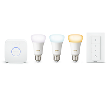 Philips Hue white ambiance 9.5W A60 E27 set EU + switch