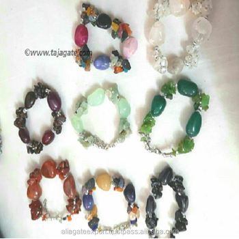 Alibaba Golden Supplier Handmade Gemstone Bracelets for Sell