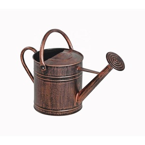 Watering Can Copper Planter