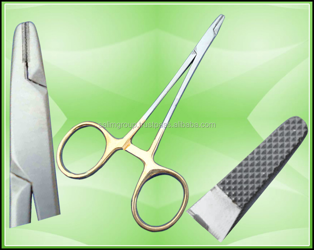 T/C Needle Holder Surgical Dental Veterinary Instrument