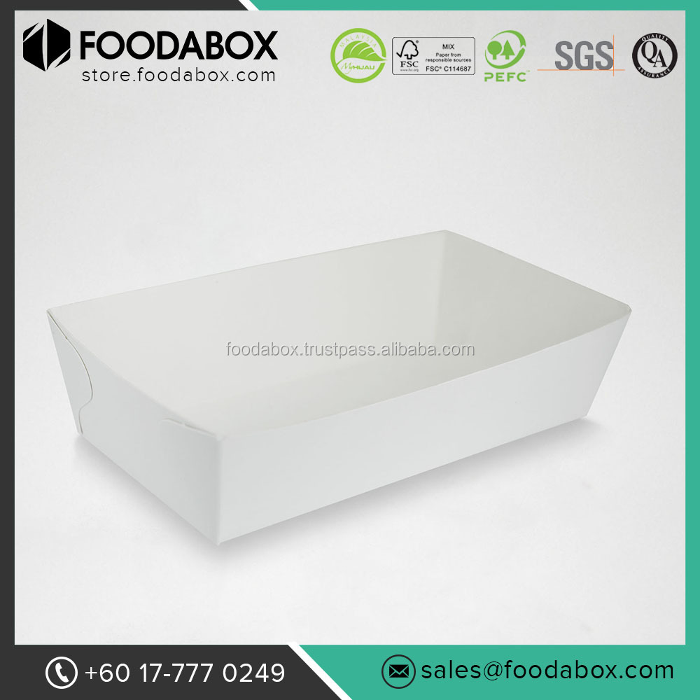 Affordable and Good Quality Hot Dog Food Paper Boat Tray