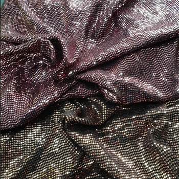 NYLON METALLIC TRANS FABRIC