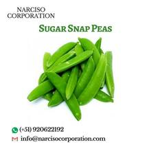 Fresh/Frozen Sugar Snap Peas From Peru