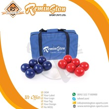 BBS-02 Wholesale Custom Boccia Ball Set with carrying bag 12 Ball pack by Remington Sports