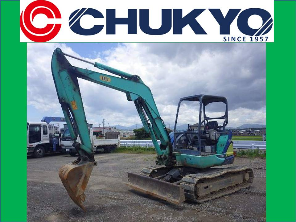 < SOLD OUT>USED IHI 50VX MINI CRAWLER EXCAVATOR FROM JAPAN