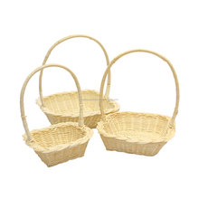 Rattan gift basket made in Vietnam