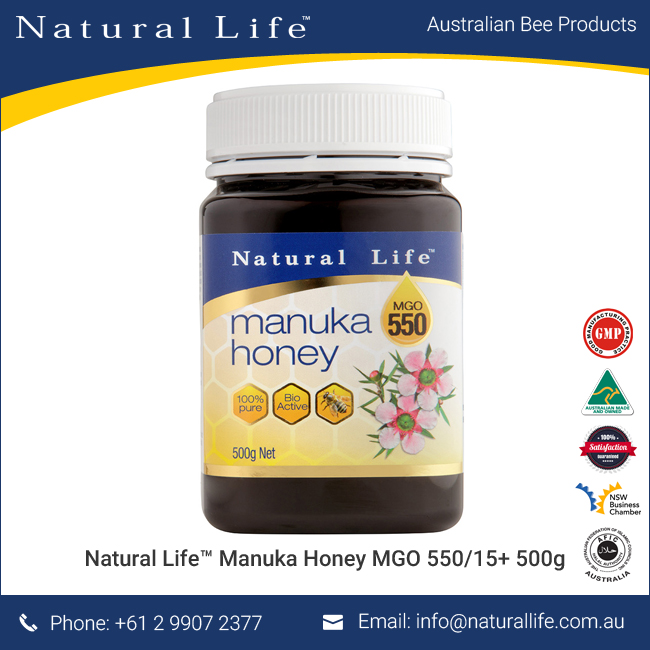 (MGO 550/15+) Manuka Honey 500g Wholesale