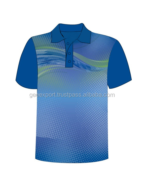 OEM manufacturers Promotion Design sublimation 3D Polo t shirt/Short Sleeves