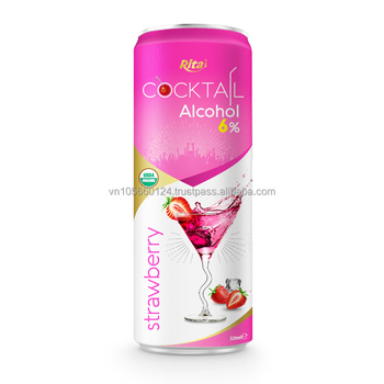 Viet Nam High quality Alcohol strawberry juice