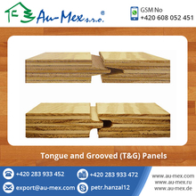 Tongue and Grooved Machined Profiles Pine Plywood