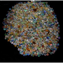 NATURAL HIGH QUALITY MULTI FIRE ETHIOPIAN OPAL 100 CARAT WHOLESALE LOT LOOSE GEMSTONE