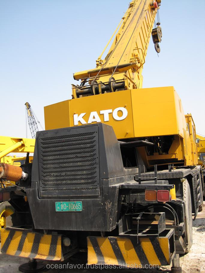 Used KATO KR-45H rough terrain crane, second hand 45ton Kato rough terrain crane KR 45H