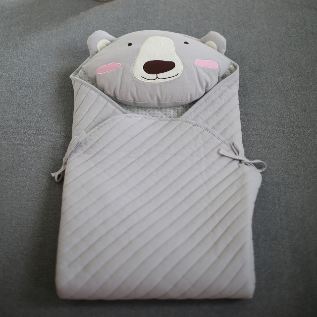 Low price high quality in stock items 3D Mesh 108*108cm Bamboo Baby Sleeping Bag