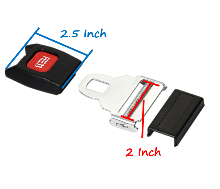 manufacture car lock buckle tongue clip seat belt