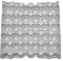 30 Cavity Paper Pulp Packaging Molded Egg Tray