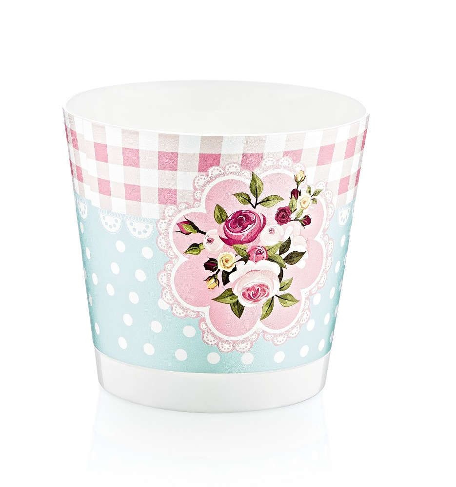 PATTERNED FLOWER POT NO:1