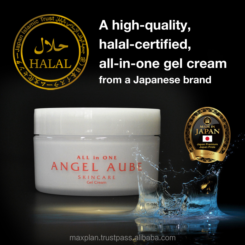 "Original and Reliable modern Halal Face Cream ""Angel Aube"" Halal certified made in japan"