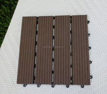 Water resistant WPC decking for outdoor application
