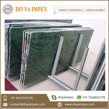 Verde Guatemala Green Marble with Black Veins at Low Price in India