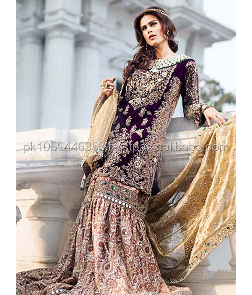 Pakistani latest party wear dresses 2018