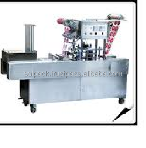 Automatic plastic cup filling sealing machine/equipment/line