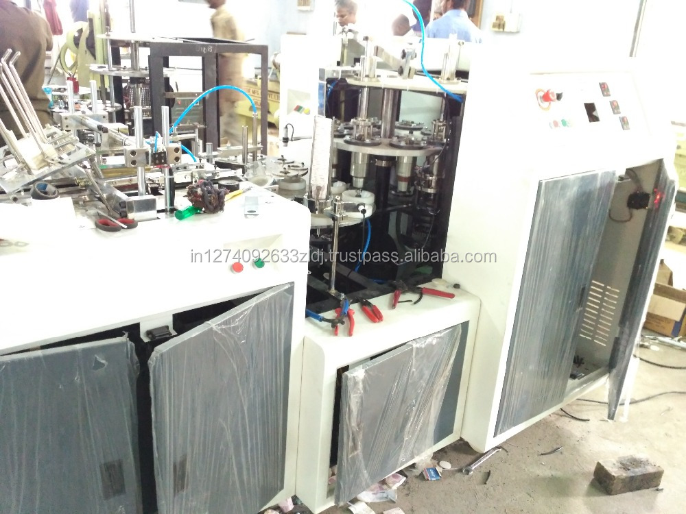 India Disposable Paper Cup Making Machine Prices