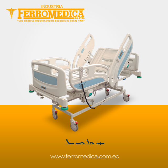 3 Movements Electric Medical Hospital Bed