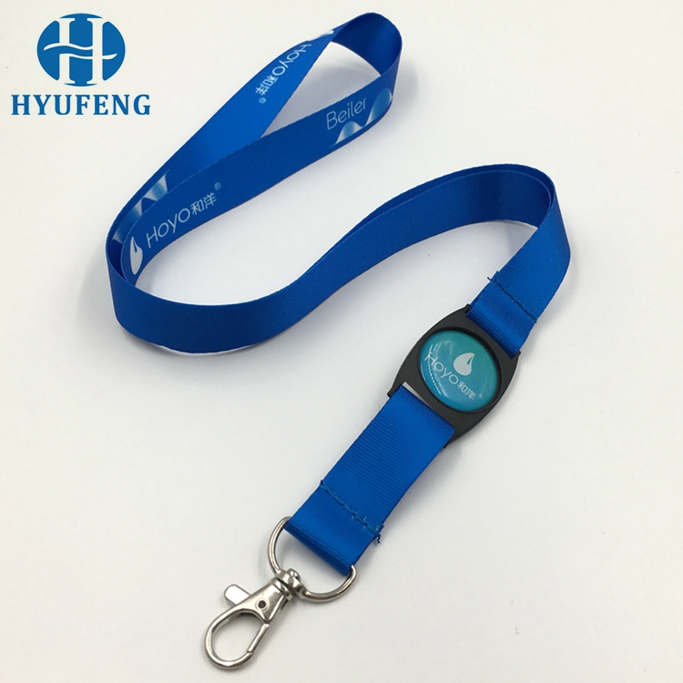 Hot Sale Nylon Material Sublimation Printed Lanyard