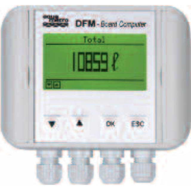 Single Computer Board Digital Flow Meter