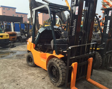 Second-hand brand equipment Toyota FD30 forklift,used Toyota forklift 3ton