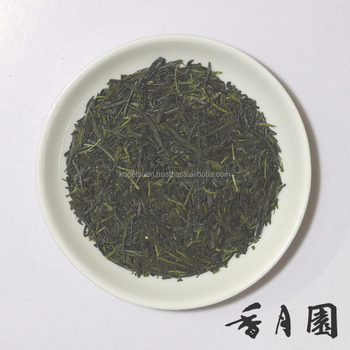 Organic Sencha Green Tea Produced in Kagoshima Prefecture