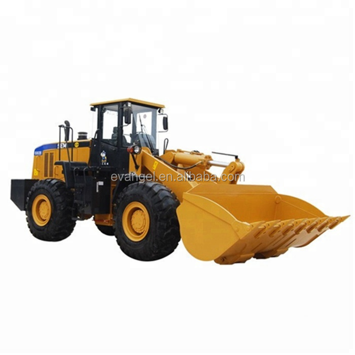 High dump SEM 655D wheel loader with engine and CE approved