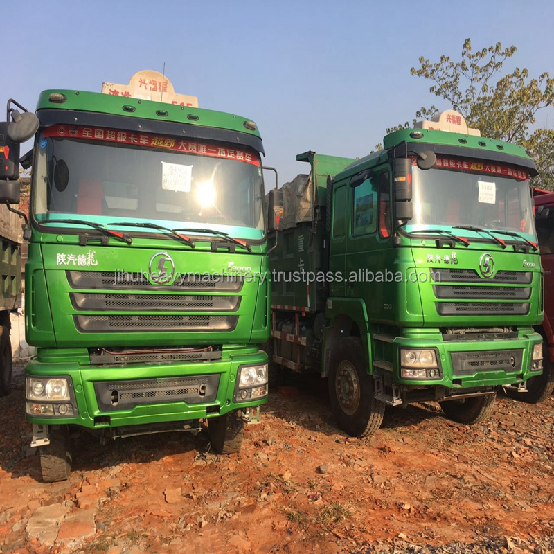 2014Year Good running condition China transporation truck second hand F3000 used shacman dump truck for sale