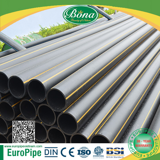 2017 HOTTEST PRODUCT nitrogen gas pipe HDPE PIPE FOR GAS, supply gaseous, OIL pipe