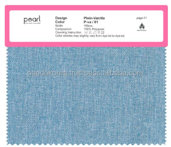 Korean Fabric customized and various designs and colors high quality soft smooth stubborn fabric