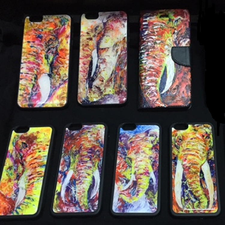 Amazing Neon Painted Mobile Phone Case