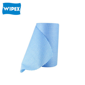 Wholesale China Top Sale Food Service Coloured polyester rayon Spunlace non woven fabric heavy duty disposable cleaning Wipes