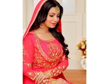 India Salwar Kammez Party Wear Dress Bollywood Ethnic Designer Beautiful Georgette Suit