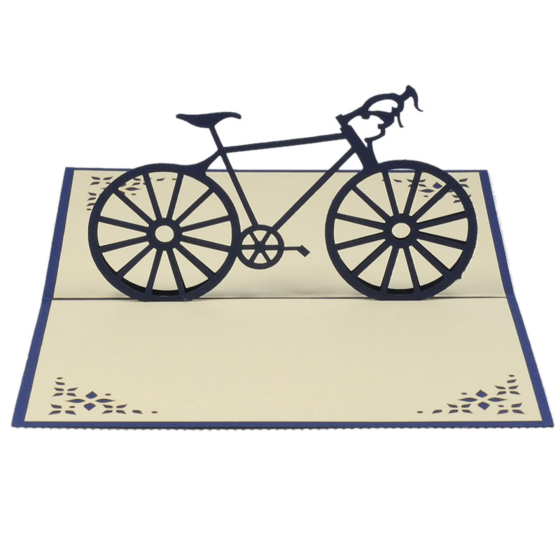 New bike pop up cards fathers day