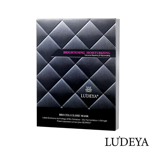 Taiwan Luxury LUDEYA Repairing Bio Cellulose Essence Mask Skin Care Beauty Facial Sheet Mask Pack for Women Weekly Used 3pcs