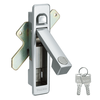 Wide range of hinge, lock, stay and handle products. Manufactured by Takigen Mfg. Co., Ltd. Made in Japan (electric rim lock)