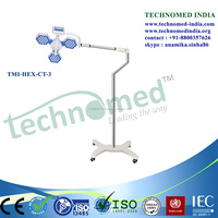 Medical Easy Operation portable medical examination light, Clinic used Surgical Mobile surgical light, portable led ot light